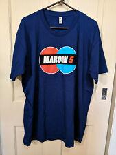 Maroon 5-T Shirt 2018 Tour-Size 2Xl-Blue