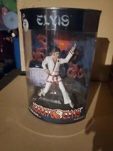 elvis presley karate doll