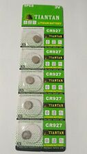 5 Pack CR927 3v Lithium Batteries Coin Cell 30mAh TianTan Exp 2022
