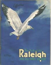 Old - circa 1935 - RALEIGH Catalogue 'The Book of the Raleigh All-steel Bicycle'