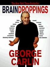 BRAIN DROPPINGS by George Carlin FREE SHIPPING paperback book humor comedy