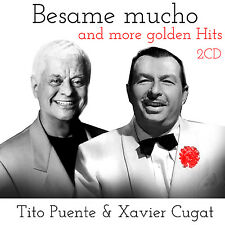 CD Xavier Cougar et Tito Puente Bésame Mucho and More Golden Hits 2CDs