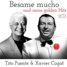 CD Xavier Cugar und Tito Puente Besame Mucho and More Golden Hits 2CDs