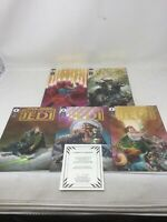 Tales of the Jedi compl & Ltd GOLD 1-5 comics Star Wars With COA excellent