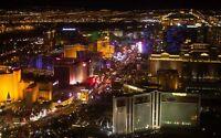 City of Las Vegas Nevada night photograph HD Print Oil Painting on Canvas24H177