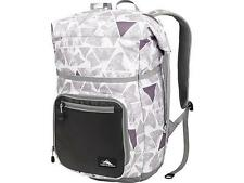 Brand New High Sierra Tethur Rolltop Laptop Backpack in Wolf Pac/Charcoal/Ash
