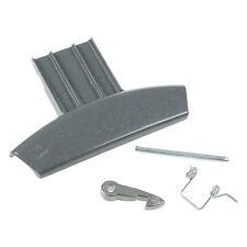 Genuine Hotpoint C00274867 Graphite Washing Machine Door Handle Kit - Grey