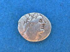 Rare Silver Tetradrachm Ptolemy Xii 80-58 and 55-51 B.C.!Rare!