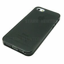 Black Gray Frost Clear Thin GEL Case Cover For Apple iPhone 5 5G 5S  SE