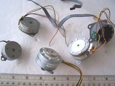 Printer Stepper Motors or Stepping Motors Used lot of 5