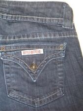 Hudson Jeans Low Bootcut w Flap Pocs Dark Sz 28  Nice !