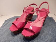 ALDO 39 B Emfulenia Wooden Open Toe Shoes, US Size 8.5