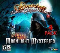 Amazing Hidden Object Games Moonlight Mysteries PC Windows 10 8 7 XP Computer