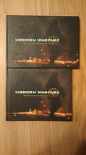 BOTH Behind the Lines Art Books Modern Warfare MW2 prestige XBOX360 & PS2 Ed