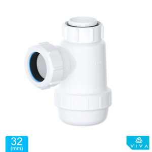 VIVA 32mm 40mm Bottle Trap Shallow Telescopic Waste Bathroom Basin Kitchen Sink