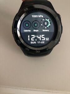 Huawei Watch 2 Smartwatch, 4G/LTE, 4 GB Rom, Wear OS by Google, Bluetooth, WiFi,