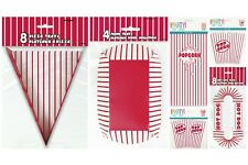 Popcorn Boxes/Bags /Food Containers (Cinema/Movie/Retro/Pizza/Hot Dog,Fries)