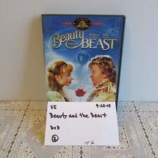 Mgm Beauty and the Beast Dvd- Rebecca De Mornay & John Savage 0925