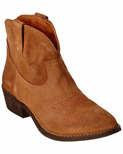 CHOCOLAT BLU Jackson Rust Suede Leather Bootie $160 MSRP Size 39 M NEW
