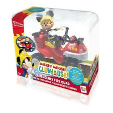 Mickey Mouse Clubhouse - Emergency Fire Quad & Mickey Figure - Disney Junior