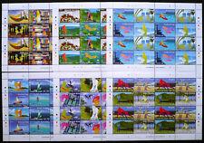 4 x Cook Island 2014 Mi. 1966-84 ** MNH Tourismus Sport Animals Mi. 340,-- €