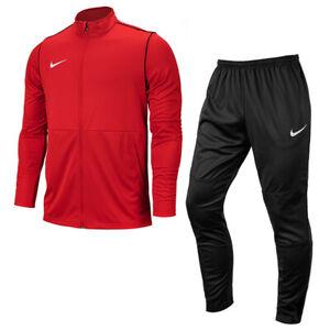 Nike Dri-Fit Park 20 Training Suit Men's Tracksuits Sets Red/Black BV6887-657
