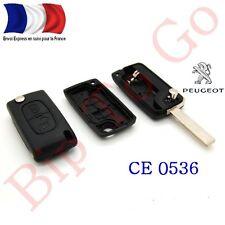 Plip coque télécommande 207 307 308 408 2boutons Peugeot FRANCE CE0536
