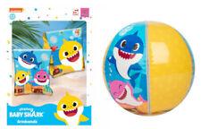 Baby Shark Schwimmflügel oder bunter Strandball Wasserspielzeug Badespaß Ball