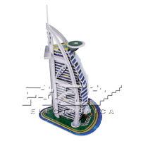 Puzzle 3D BURJ AL ARAB Hotel de Lujo Dubái 17 Piezas j212