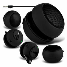 New Black Mini Portable Travel Bass Speaker for iPod iPhone iTouch iPad MP3 UK