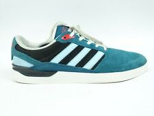Mens Adidas ZX VLC Trainers Teal Suede  Size  Us 12