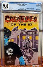 Creatures of the Id #1 (1990, Caliber) CGC 9.8 NM/MT 1st Frank Einstein (Madman)