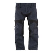 Pantaloni blu con protezione ginocchia per motociclista Taglia 40