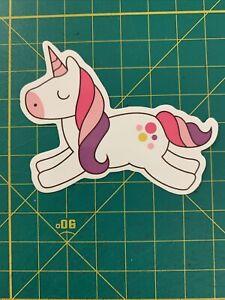 Magical Unicorn sticker - Pink Hair
