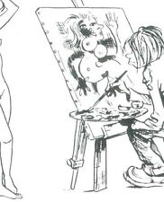 carte postale nu Jeune femme nue Pierre Joubert HOP Non scout Non Signe de Piste
