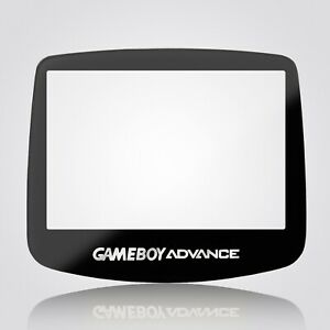 Game Boy Advance IPS Screen Lens Glass Tempered Toughened Black Nintendo GBA