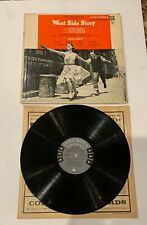 West Side Story Vintage Vinyl LP Record Jerome Robbins Original Musical
