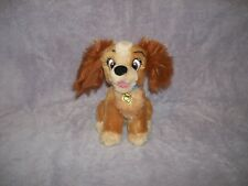 "Lady and the Tramp Plush 6 1/2"" TALL ADORABLE"
