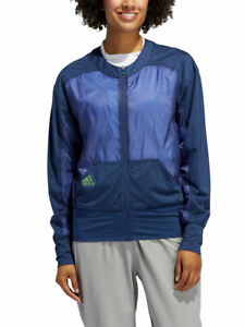 Adidas W Full-Zip Jacket - Tech Indigo - XS - BNWT