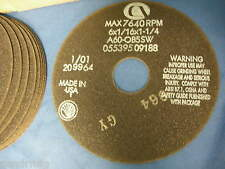 LOT OF 10 CARBORUNDUM ABRASIVES A60-OB5SW 05539509188 GRINDING / CUT OFF WHEEL