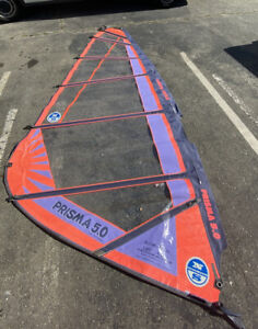 "Windsurfing Sail -NorthSail Prisma 5.0Length: 162"" -Awesomeness"