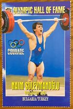 NAIM SULEYMANOGLU, 1996 SI FOR KIDS CARD IN EXCELLENT CONDITION ! WEIGHTLIFTING