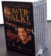 NEW IN BOX ANTHONY ROBBINS POWER TALK STRATEGIES FOR LIFELONG SUCCESS CD BOX SET