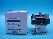 (1) PACKARD PR342 240V DPDT SWITCHING RELAY 90342 ZC90342 92342 R4222D1021