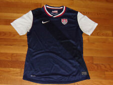 NIKE DRI-FIT US SOCCER SHORT SLEEVE SOCCER JERSEY BOYS LARGE 14-16 EXCELLENT