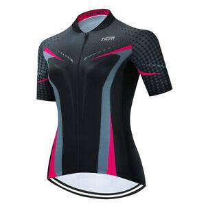 Women's Cycling Jersey Clothing Bicycle Sportswear Short Sleeve Bike Shirt J003