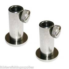 2 x New Stainless Steel Stage Stands for Platform Carp Fishing For Bank Sticks