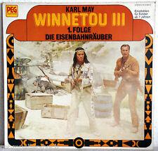 """12"""" Vinyl - WINNETOU III - 1. Folge Die Eisenbahnräuber"""