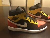New Nike Air Jordan 1 Mid SE Amarillo Sneaker Shoes Size US 12.5