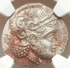 305-294 BC Hellenistic CT Asia Sophytes Imitation Athens AR didrachm NGC Ch VF